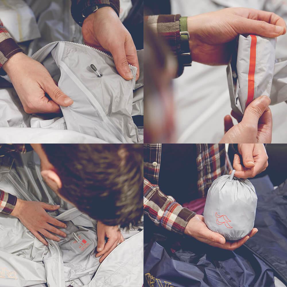 Příprava bundy